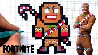 Comment Dessiner Marteau Pilon De Fortnite Pixel Art