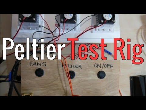 Building A Peltier (TEC) Test Rig