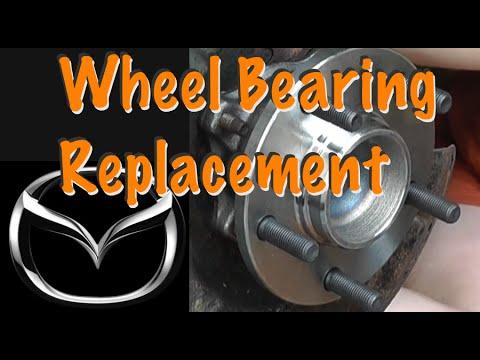 Replacing Wheel Bearings on a Mazda 3