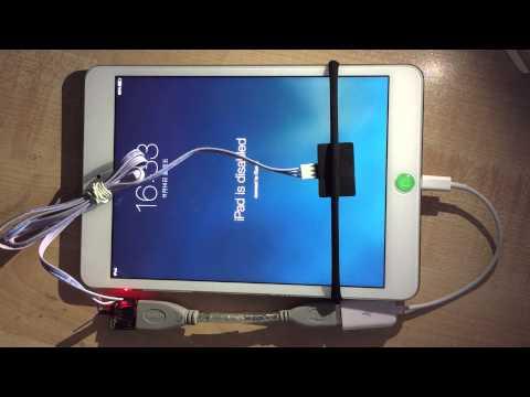 MFC Dongle Unlock iPad Passcode