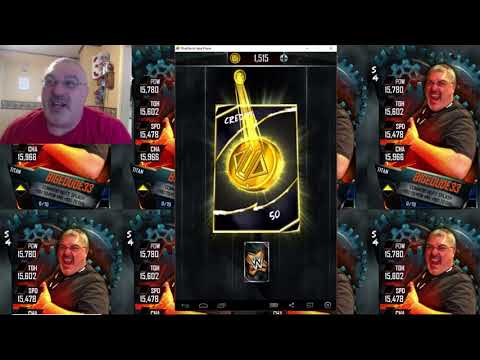 ANOTHER S4 GLITCH!!! Valentines Pack Opened!! FUN STUFF! WWE Supercard