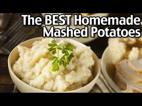 How To Make The BEST Homemade Mashed Potatoes!