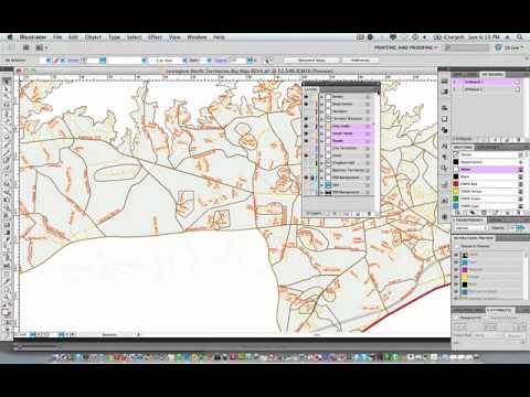 Merge Flatten Layers Illustrator CS5
