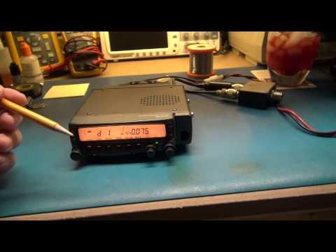 KENWOOD TM-733 HAM RADIO REPAIR
