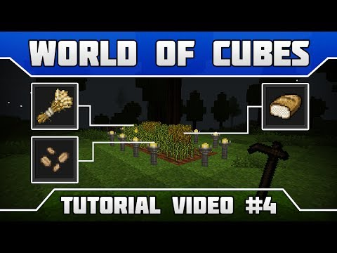 WoC Tutorials: How to get wheat and eat bread in Survival Mode