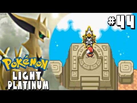 Pokémon Light Platinum #44 ¡CAPTURANDO LEGENDARIOS! (ARCEUS,HO-OH Y MEWTWO)