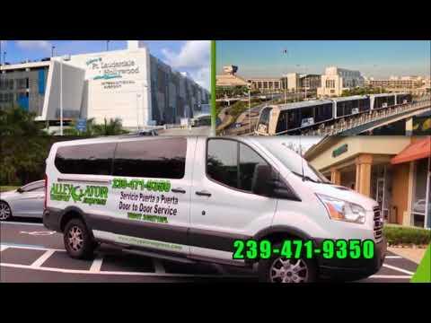 PUERTA A PUERTA transporte Miami Cape Coral Fort Myers Lehigh Bonita Springs Naples Fort Lauderdale