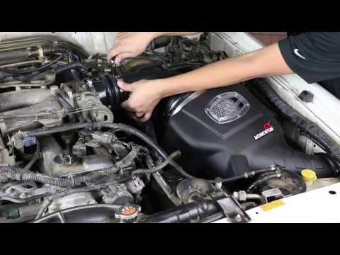 How To Install aFe Power 01-16 Nissan Patrol (Y61) 01-16 I6-4.8L Momentum GT Intake System 54-76106