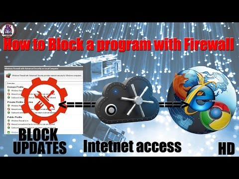 How to Block a Program with Firewall HD