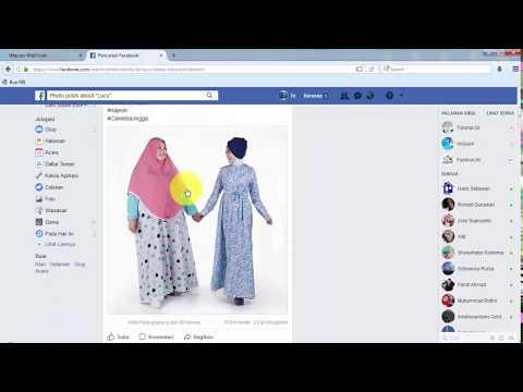 Scrape data graph menggunakan facebook bot imacros