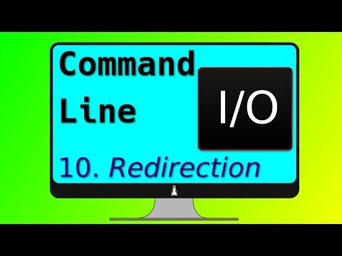 10. Linux redirection commands