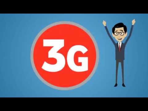 Vodafone 2G vs 3G