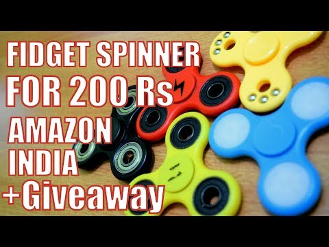 FIDGET SPINNER FOR 200RS // GIVEAWAY