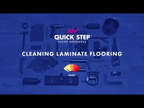 How to clean your laminate floor | Tutorial by Quick-Step