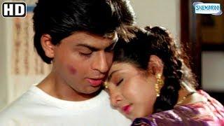 Shah Rukh Khan romantic moment with Divya Bharti (HD) - Deewana {1992} - Best Romantic Movie