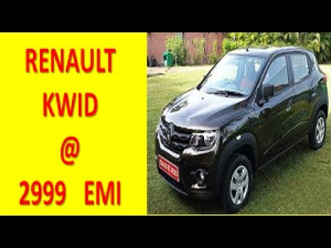 Renault KWID Just @ Rs 2999 EMI Only || Dhamaka Offer Kwid with lowest Down Payment EVER