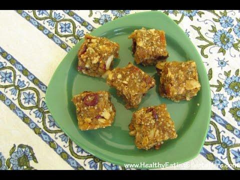 No-Bake Apricot-Coconut Granola Bites