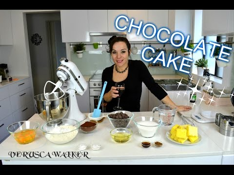 VERUSCA WALKER CHOCOLATE MUD CAKE RECIPE   I USE THIS FOR SO MANY OF MY CAKES   BY VERUSCA WALKER