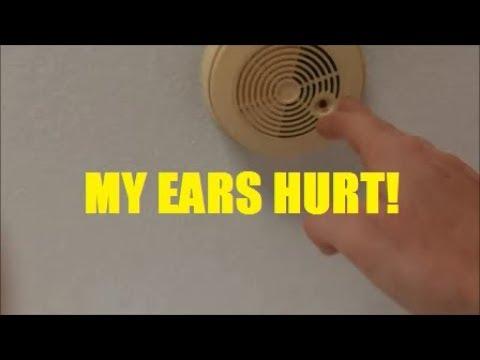 Testing Ancient Smoke Alarms in my Grandma's House