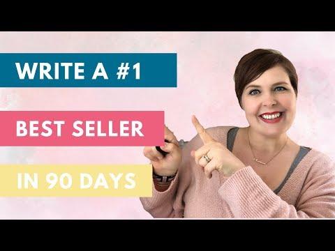 Write a #1 best seller (IN 90 DAYS!)