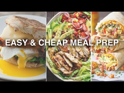 MEAL PREP for Weight Loss | 5 MINUTE Recipes