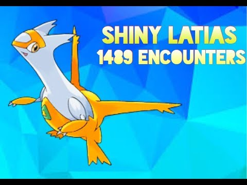 Shiny Latias in only 1489 Encounters! (No Shiny Charm, ORAS Eon Ticket)