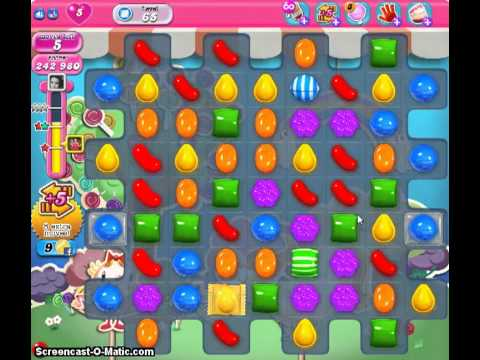 Candy Crush Guide to level 65 2 games, no boosters.