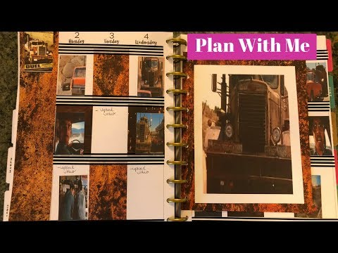 Plan With Me Duel Theme Happy Planner