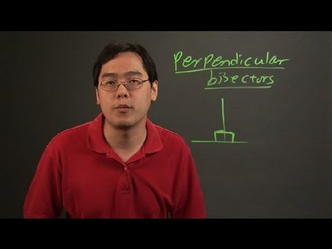 How to Find the Measures of the Angles With Perpendicular Bisectors : Angles & Other Math Tips