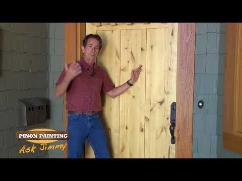 Varnish on Doors in Prescott