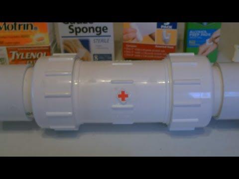 DIY Waterproof Medicine Cabinet! - Portable