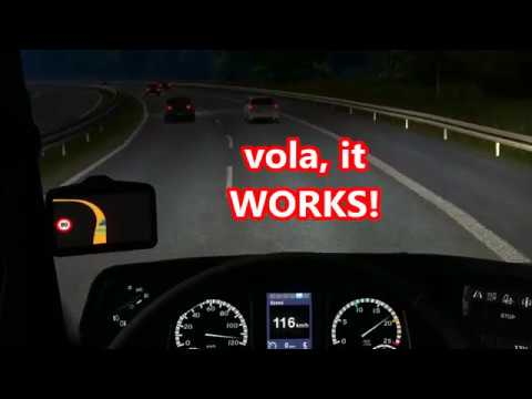 EuroTruck Simulator 2:How to make your Truck faster than 90 KM/h !!