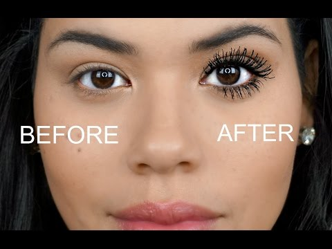 HOW TO GET LONGER FULLER LASHES