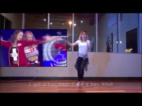 Deaf Dancer -  SNSD I Got A Boy Dance Cover (practice)