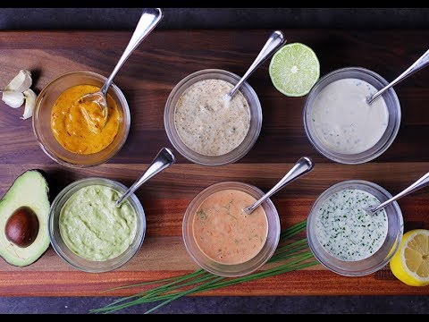 Andrew Zimmern Cooks: Mayo-Based Dips & Sauces
