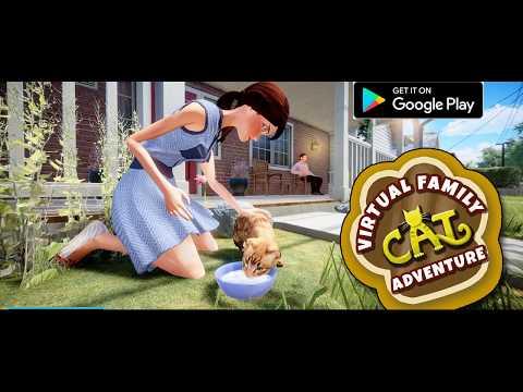 Virtual Family Cat Adventure Family Mom Simulator