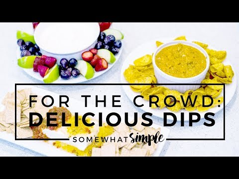 Delicious Dips Your Guests Will LOVE!