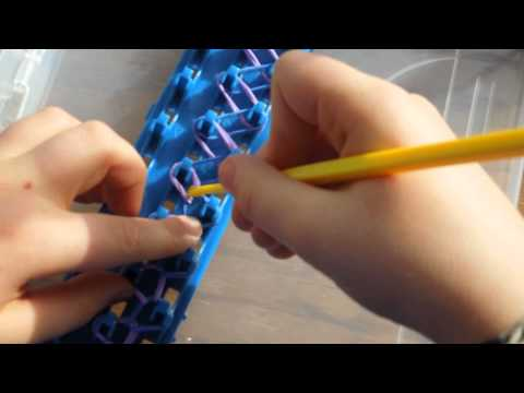 How to make a Crazy Loom Double Bracelet