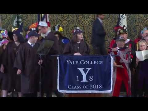 Yale Class Day 2018 Surprise Tribute to Athletics Director Tom Beckett