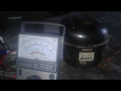 How to Test a Compressor With a Multimeter In Hindi - Urdu