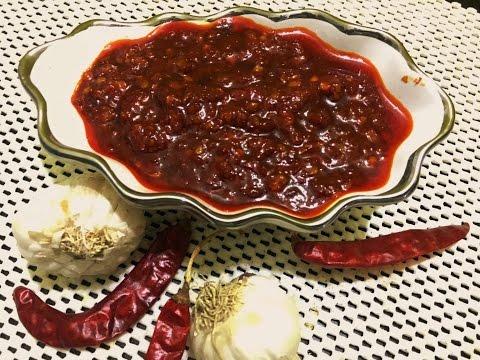 schezwan sause\ शेज़वान सास  या  शेज़वान चटनी घर पे कैसे बनाये आसान तरीका schezwan chutney-