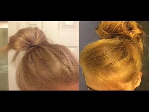 How I Toned my orange hair using Wella toner T28