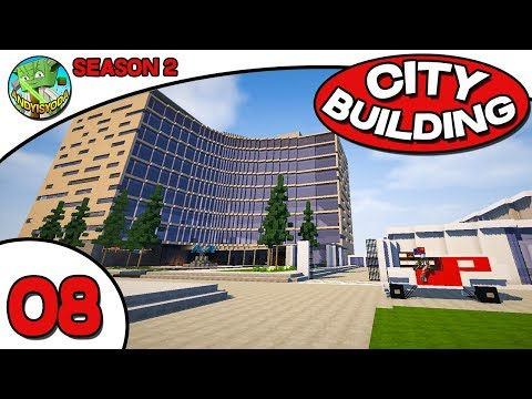 Minecraft City Building Sunday S2E08 - Hospital