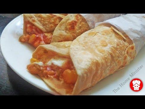 नाश्ते या डिनर में बनाये ये स्वादिष्ट मसाला कॉर्न फ्रैंकी, Masala Corn Frankie, Franky Recipe hindi