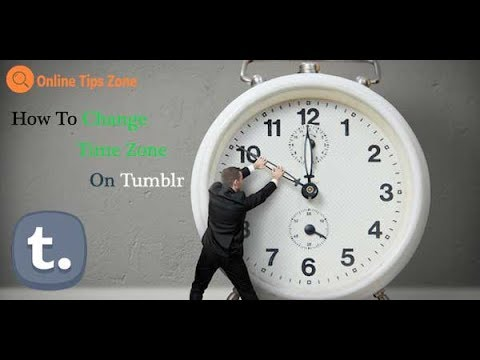 How to Change Time Zone on Tumblr | Tumblr App