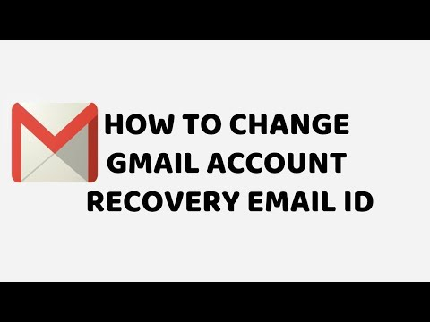 How To Change Gmail Account Recovery Email ID | Tutorials in Hindi