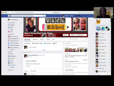 How to create a file for a Facebook group