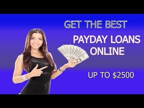 HOW TO GET THE BEST ONLINE PAYDAY /FINANCIAL/ LOAN IN USA 2018