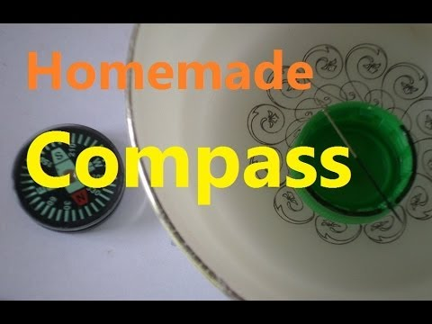 How To Make a Compass (Very Easy to Make!)