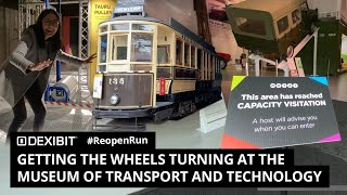 Getting the wheels turning at the Museum of Transport and Technology (MOTAT) | #ReopenRun